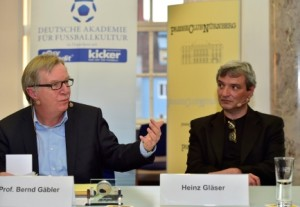 Videostreit VNBS Presseclub Akademie für Fußballkultur