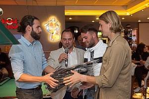 Pressebowling 2017 Jablonka, Pöhlmann