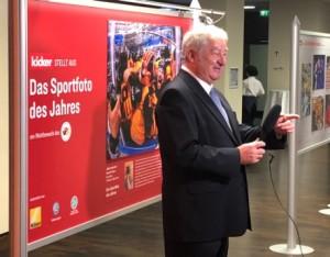 Präsident Erich Laaser wurde in Berlin wiedergewählt und wir den VDS auch in den nächsten beiden Jahren führen. Foto: Uli Digmayer