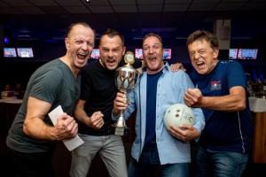 Das Kicker-Team mit Markus Löser, Philipp Kaiser, Marco Schweigert und Harald Kaiser (von links) war nicht zu schlagen.  Foto: Sportfoto Zink